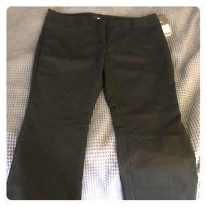Black Mossimo Pleated Dress Pants
